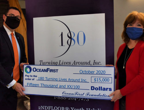 OceanFirst Bank Supports Children's Program at 180 Safe House