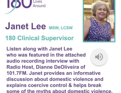Janet Lee, 180 Clinical Supervisor Discusses Domestic Violence